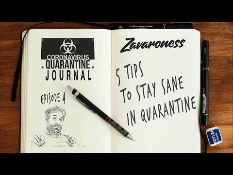HOW TO SURVIVE THE CORONAVIRUS QUARANTINE: 5 tips you should follow everyday