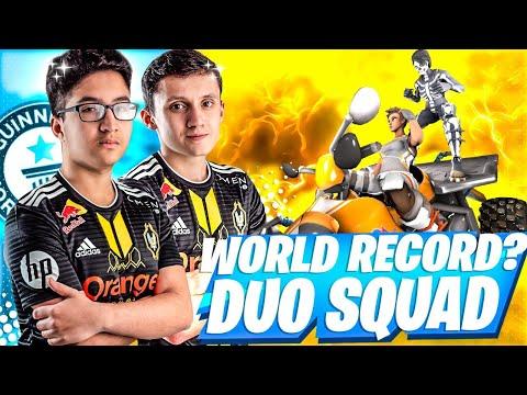 WORLD RECORD DUO VS SQUAD ?!! ►49 KILLS  (w/Maxalibur)