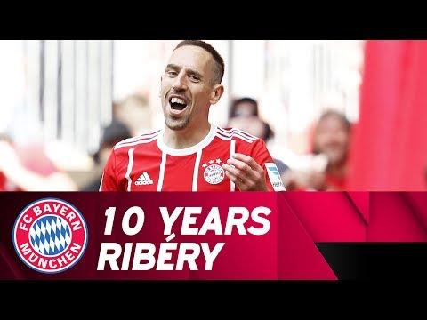 10 Years Franck Ribéry at FC Bayern!