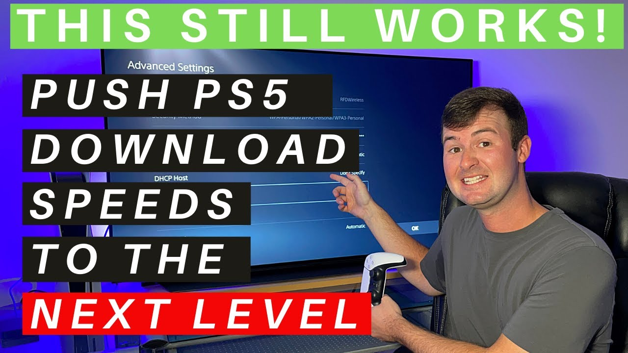 PS5 DNS Settings - How to BOOST Download Speeds and REDUCE Internet Ping and Lag!