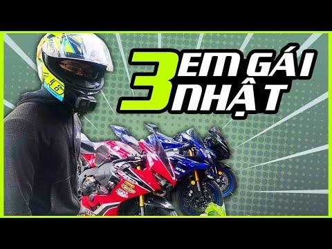 PKL - Chạy thử và so sánh Yamaha R1, Suzuki GSX-R1000, và Honda CBR1000RR