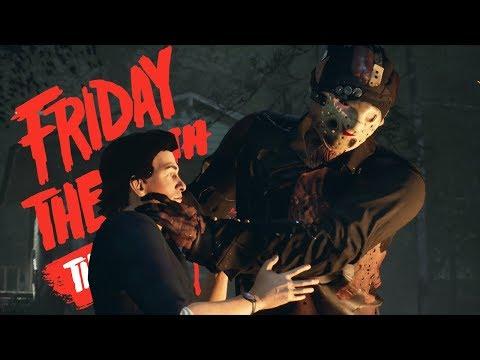 NOVO JASON ULTRA BUGADO - Friday the 13th The Game