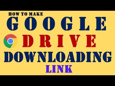 How to make link of photos in google drive