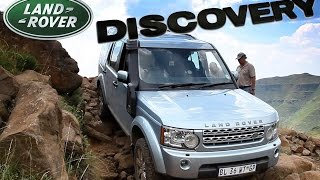 Land Rover Discovery Lr4 Ultimate Off Road Trial. Baboons Pass Lesotho, Southern Africa. Part-3