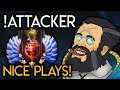 !Attacker Kunkka GOD Perfect Combo and Timing HIGH Ranked Plays Dota 2