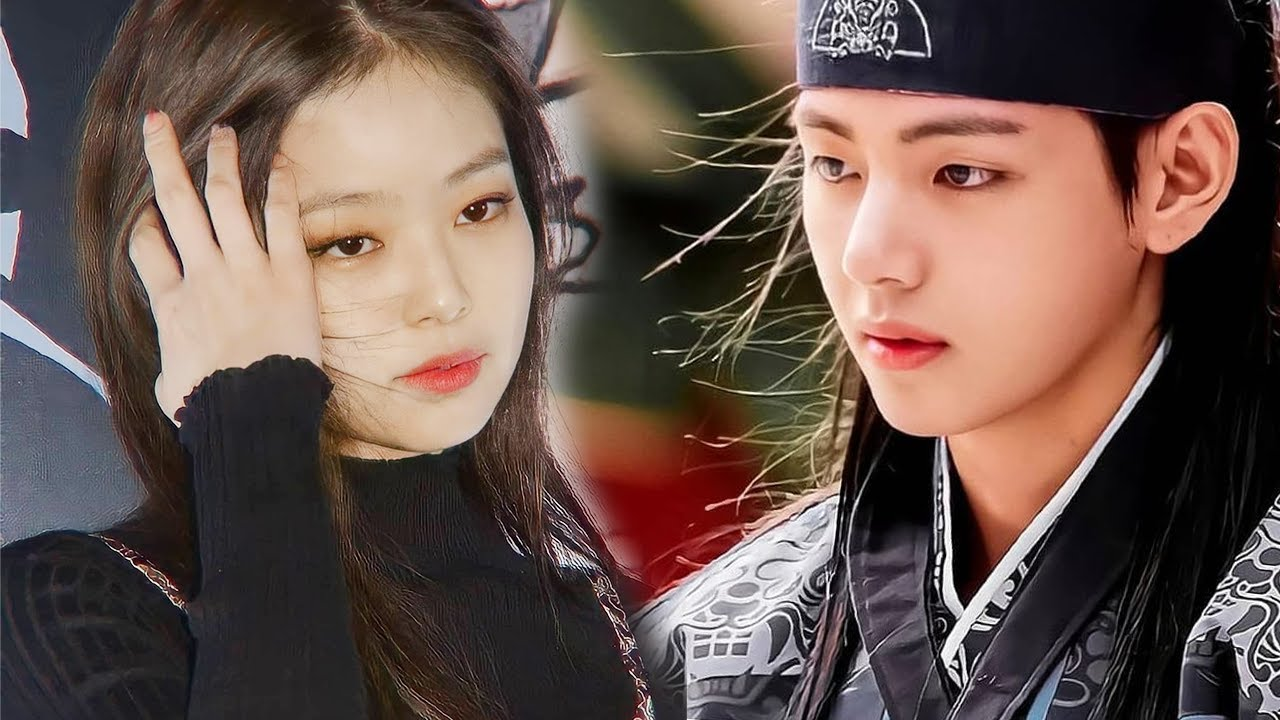 Jennie Blackpink and V BTS are the queens and kings of Kpop for that matter