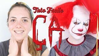 [Tutoriel] Maquillage Ça le Clown Facile pour Halloween 🤡🤡🤡