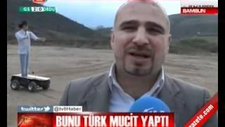 Türk mucit uzaktan kumanlı robot yaptı. Mustafa Yiğit 'RoboTürk' ismini vermiş. Samsun