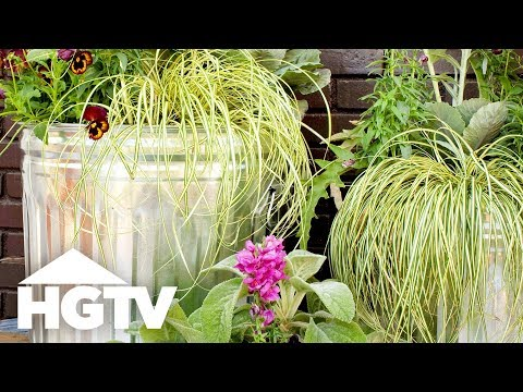 DIY Container Garden on Wheels - HGTV