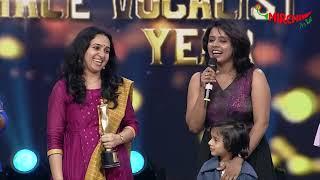 Sithara Krishnakumar singing Kangal Neeya at Mirchi Music Awards