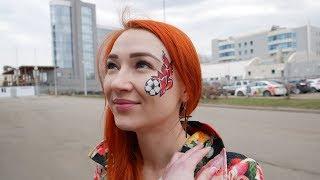 Девушка первый раз на футболе в Ярославле: поболела за «Шинник» и прочувствовала атмосферу