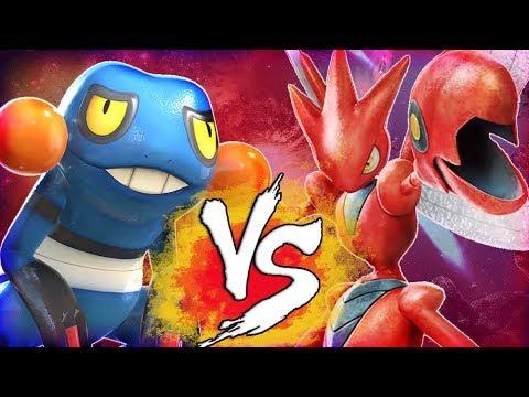 Download Youtube: Pokken Tournament DX - Croagunk vs Scizor FIGHT! (Nintendo Switch)