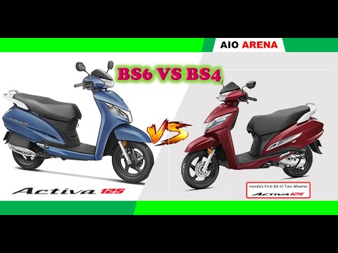l BS6 VS BS4 l Activa 125 l 2020 Activa 125 FI VS 2019 Activa 125 l -[Specification Comparison]