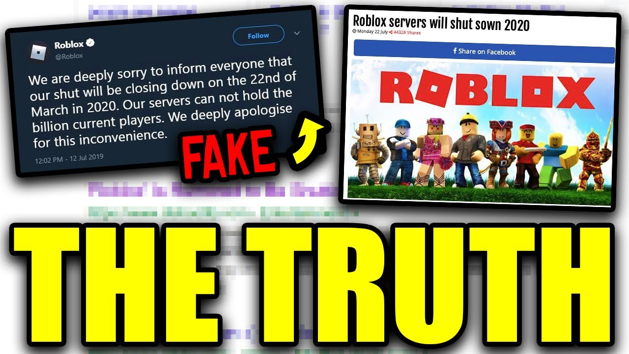 When Is Roblox Shutting Down For Good Roblox Is Shutting Down The Truth Youtube
