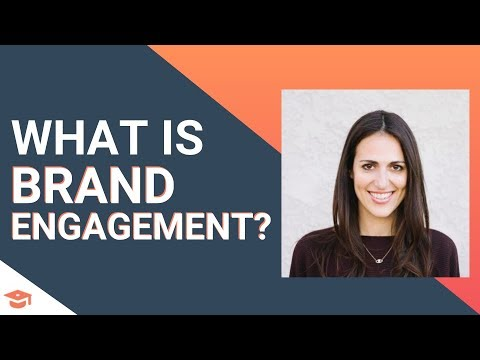 What is brand engagement?