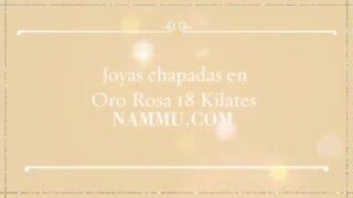 Joyas acabadas en Oro Rosa 18 quilates 360p