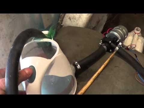 Промывка радиатора печки. (Раствором лимонной кислоты)