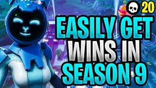 How To Win Games EASILY In Fortnite Season 9! (Fortnite How To Win - Season 9 Tips)