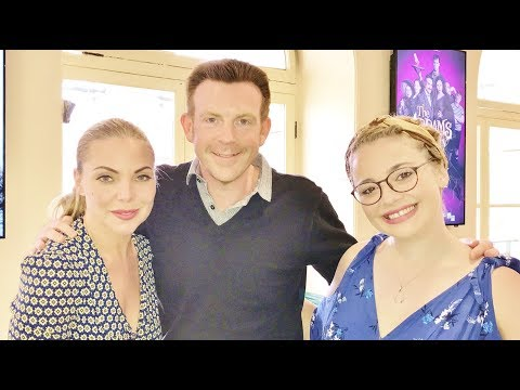 Cast Addams Family Musical Interview Samantha Womack & Carrie Hope Fletcher