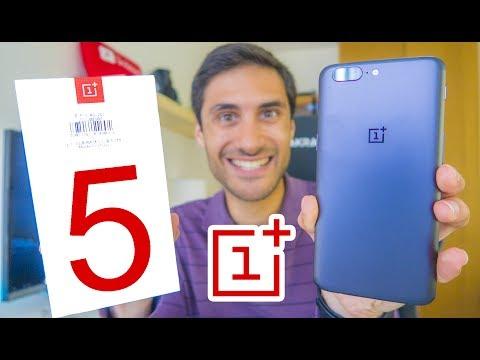 ADOREI Este SMARTPHONE !! OnePlus 5 - Unboxing