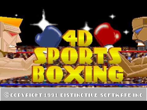 Classic PC Games - 4D Sports Boxing