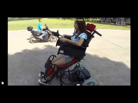 Electric Reclining Wheelchair by Portashopper & Electric Reclining Wheelchair by Portashopper - YouTube islam-shia.org