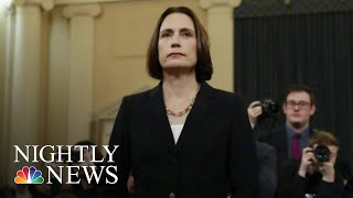 Expert Fiona Hill Blasts 'Fictional Narrative' Of Ukraine Election Interference | NBC Nightly News