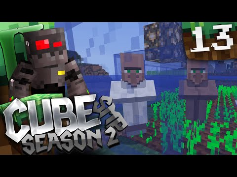 Minecraft Cube SMP S2 Episode 13: Villager Operations
