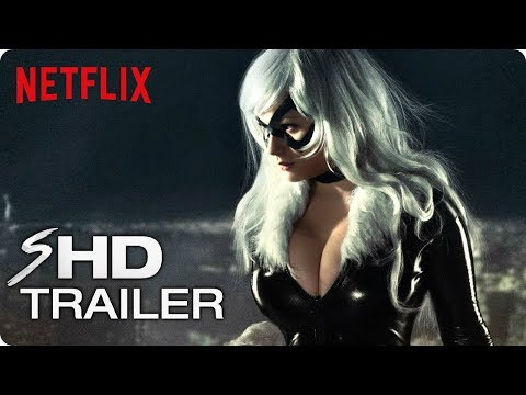 Marvel's THE BLACK CAT Teaser Trailer #1 (2019) Netflix Marvel Concept