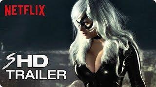 Marvel's THE BLACK CAT Teaser Trailer #1 (2019) Netflix Marvel Concept