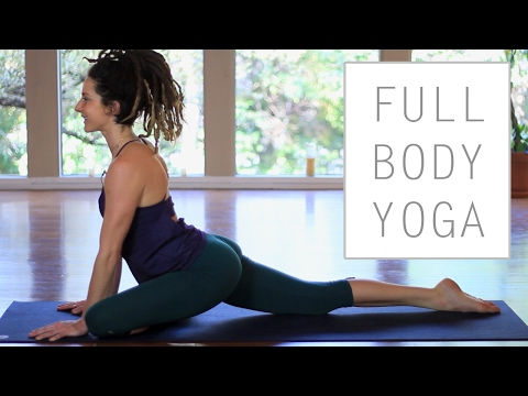 30 Minute Full Body Stretches For Flexibility - Gentle Beginner Yoga Flow