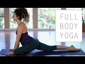 30 Minute Full Body Stretches For Flexibility - Gentle Beginner Yoga Flow
