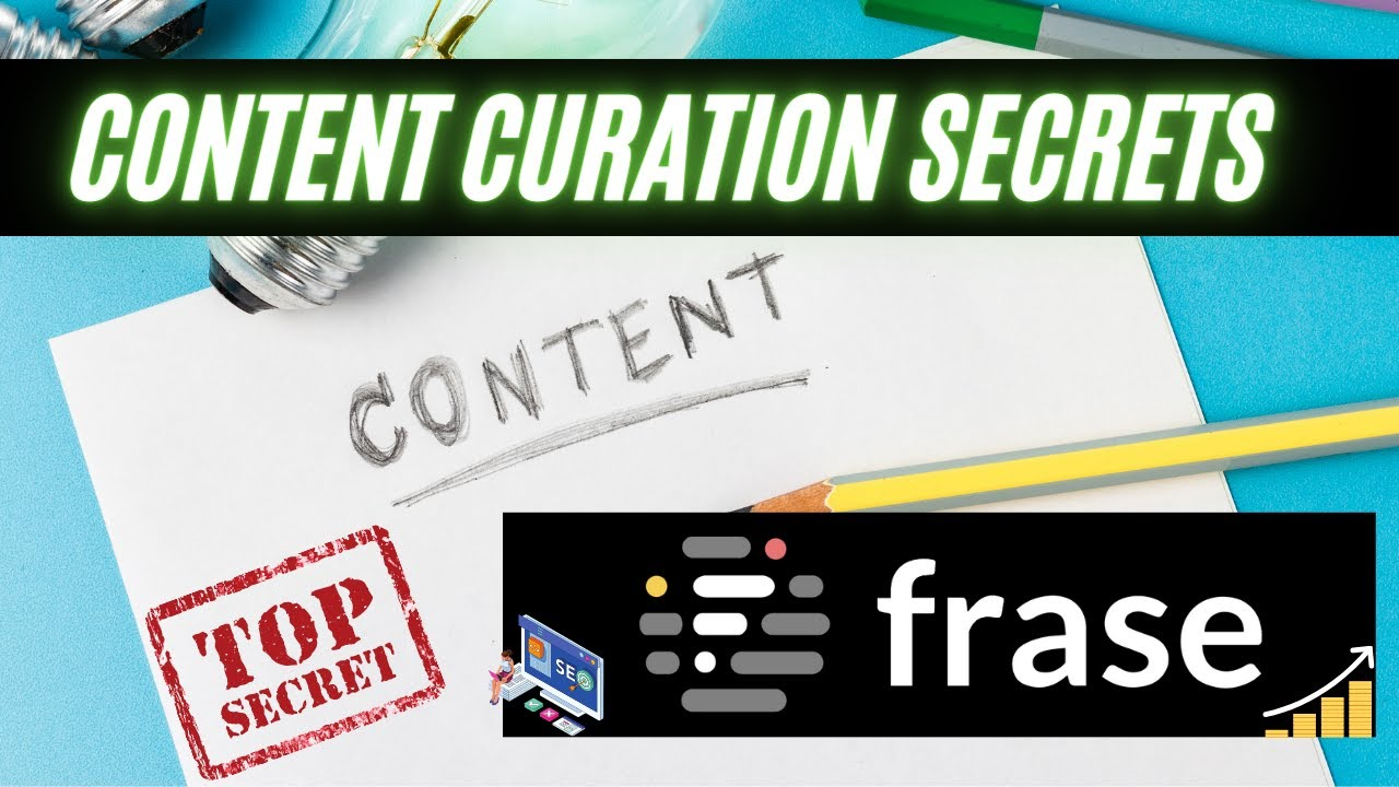 Content Curation With Frase IO 2021 | How To Find & Write Your Blog In 15 Min! HD (720p)