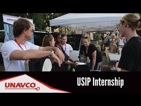 USIP Internship - Real-world Work Experience at UNAVCO!  [captioned]