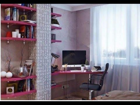 Дизайн комнаты для девушки. Девичья комната.