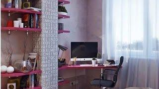 Дизайн комнаты для девушки. Девичья комната.(Дизайн комнаты для молодой девушки. Делаете дизайн интерьера для девушки ? Это видео Вам поможет !, 2015-05-14T22:18:00.000Z)
