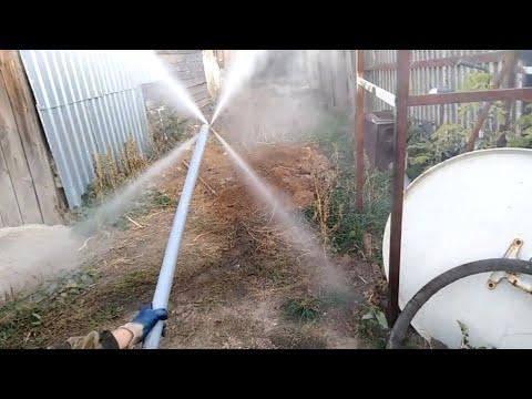 Прочистка канализации автомойкой. Гидродинамическая промывка.