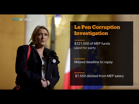Money Talks: French presidential candidate Marine Le Pen 'misused funds'
