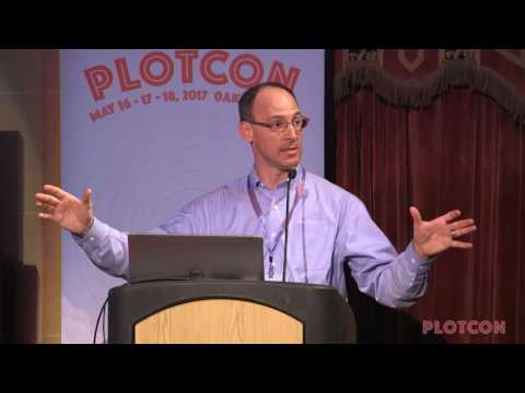 PLOTCON 2017: Alan Jacobson, The role of visualization in analytics at Ford