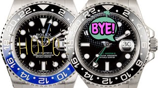 Rolex Batman NOT discontinued but another GMT might in 2019!