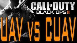 Black Ops 2 - UAV vs Counter CUAV (Call of Duty BO2 Killstreak Scorestreak Difference)
