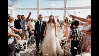 Наша свадьба. Свадебное видео. Христианская свадьба. Ночная церемония