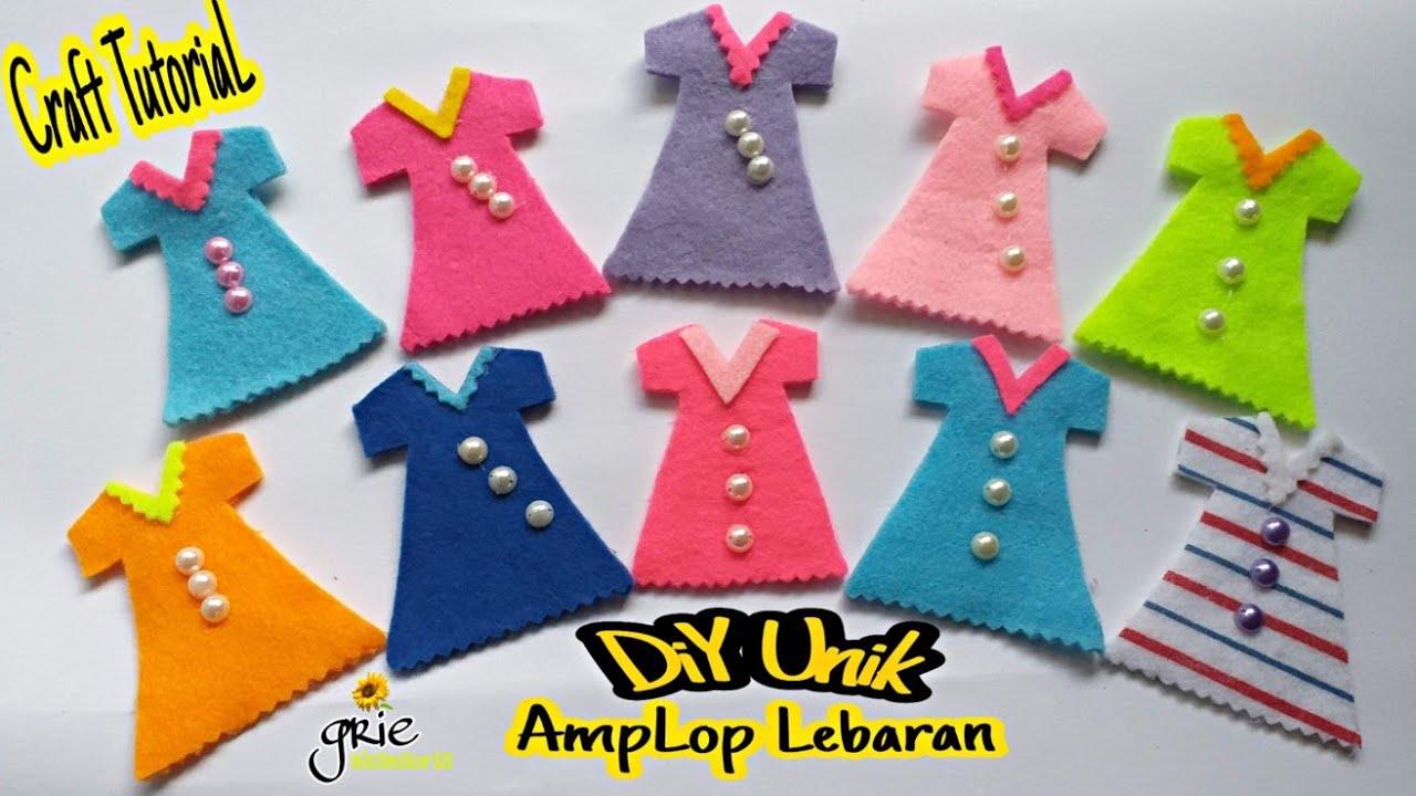 Gambar baju lebaran lucu gokil, baju lebaran lucu bikin ngakak,. Cara membuat amplop lebaran bentuk baju dari kain flanel ...