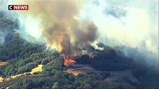 Californie : les violents incendies continuent, des coupures de courant massives prévues ce week-end
