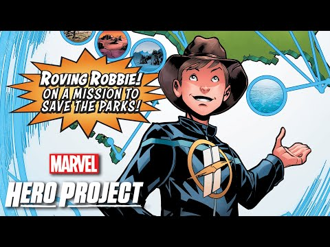 Master Comics Theater: Robbie from Marvel's Hero Project
