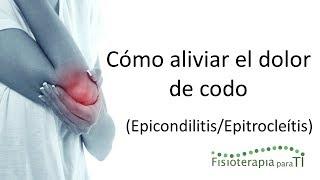 Epicondilitis y epitrocleítis. ¿Cómo ...