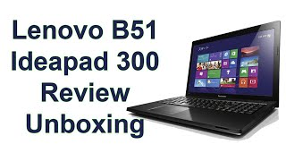 review laptop Lenovo B51 ideapad 300 إستعراض لابتوب لينوفو