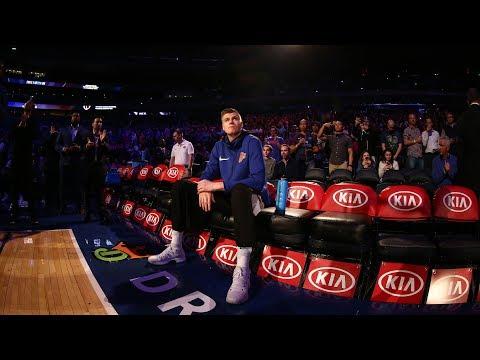 Kristaps Porzingis Breaking Offensive Records | New York Knicks | MSG Networks