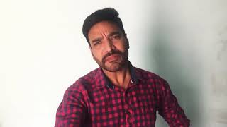 Audition of an actor Anuj Sharma
