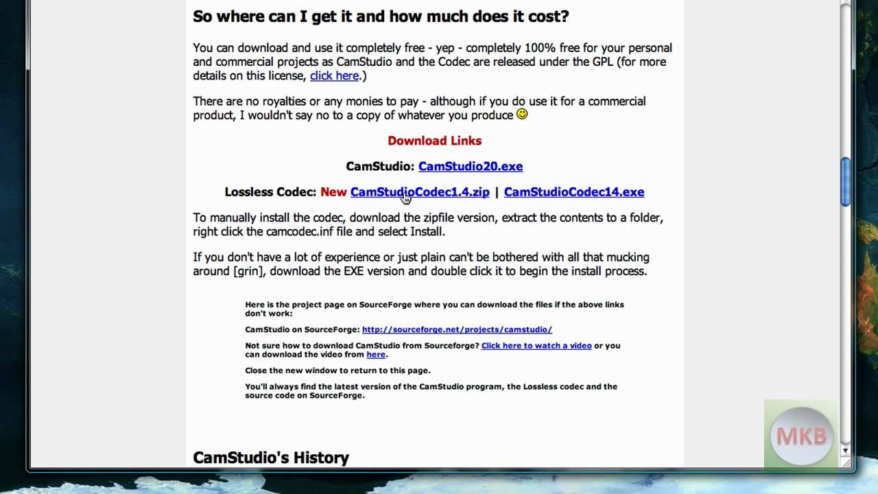 camstudio lossless codec 1.4